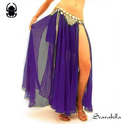 Buikdanskleding rok paars
