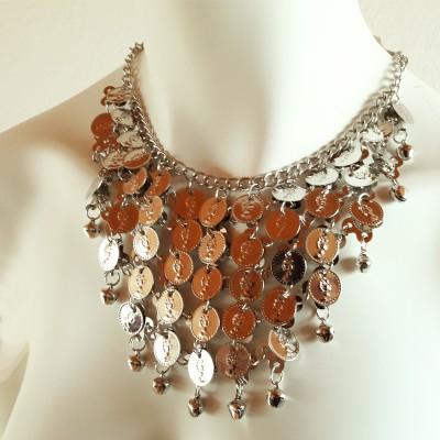 Buikdans accessoires zilver