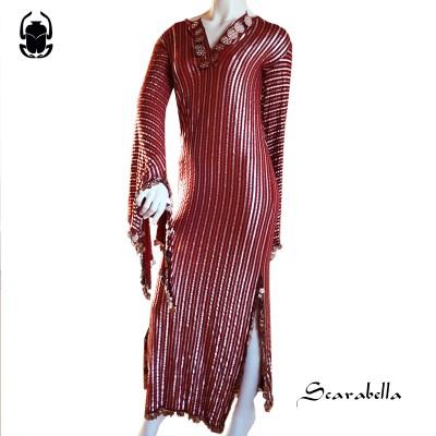 Saidi jurk rood/zilver XL