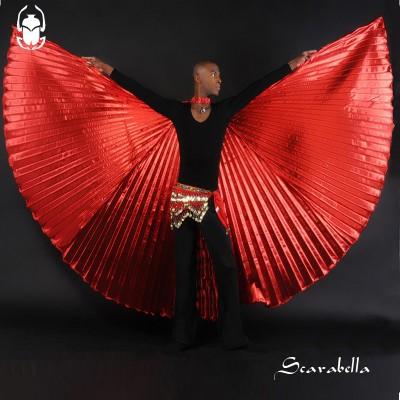 Isiswings Scarabella rood