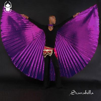 Isiswings Scarabella paars